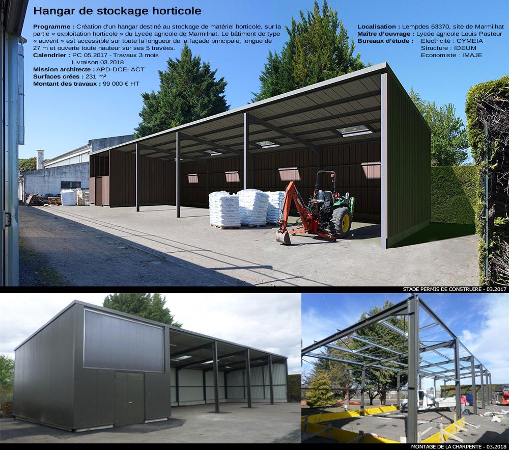 Batiment de stockage - Construction hangar agricole ...