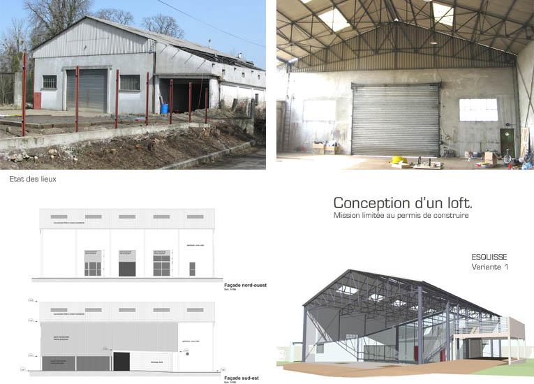 Loft en auvergne habitation dans un hangar - Hangar transforme en loft ...