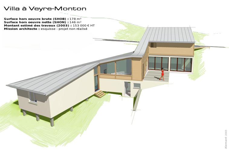 Maison d 39 architecte en bois moderne et contemporaine en - Maison d architecte bois ...