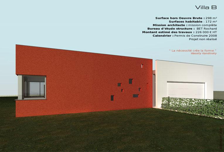 maison d 39 architecte moderne et contemporaine en auvergne. Black Bedroom Furniture Sets. Home Design Ideas